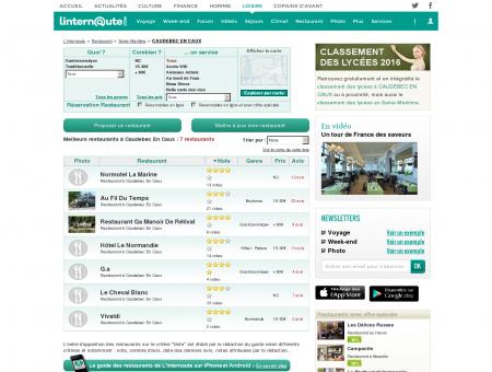 Restaurant Caudebec En Caux : Le guide des...