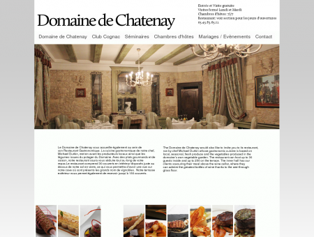 Domaine de Chatenay - Restaurant
