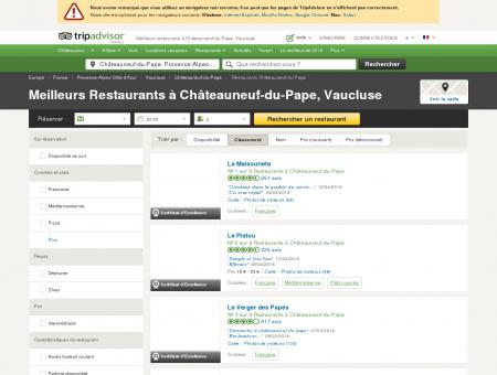 Les 5 meilleurs restaurants à Châteauneuf-du...