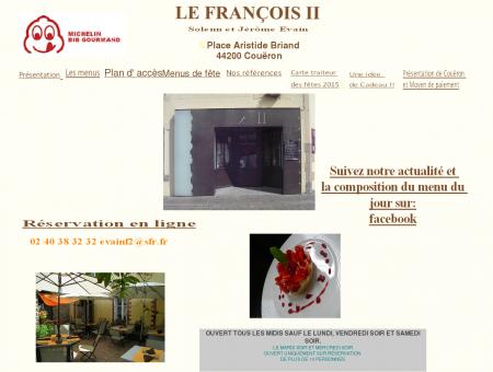 Accueil du restaurant Le François II