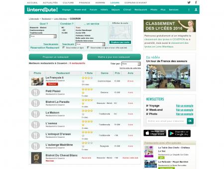 Restaurant Coueron : Le guide des meilleurs...