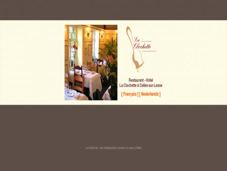 La Clochette - Hôtel - Restaurant Celles-sur...