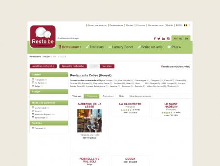 Restaurant Houyet CELLES - Guide...