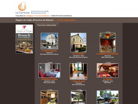 restaurants à Celles (Province de Namur) et...
