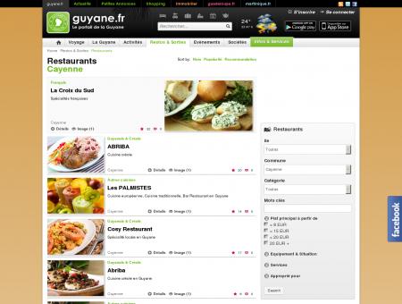Restaurants - Cayenne - guyane.fr
