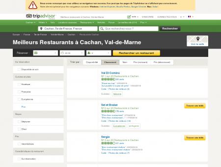Les 10 meilleurs restaurants à Cachan -...