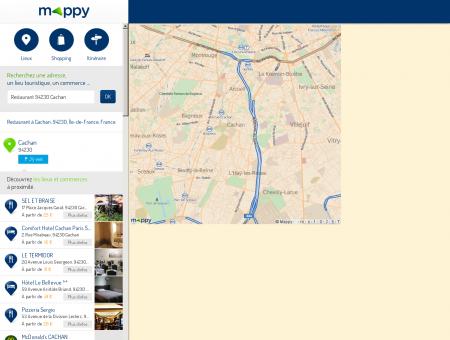 Restaurant à Cachan (94230) - Mappy - Plans,...