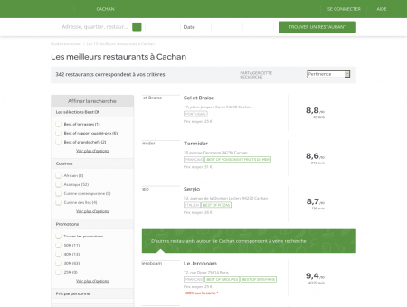 Restaurants Cachan - Restaurants Cachan : réservez.