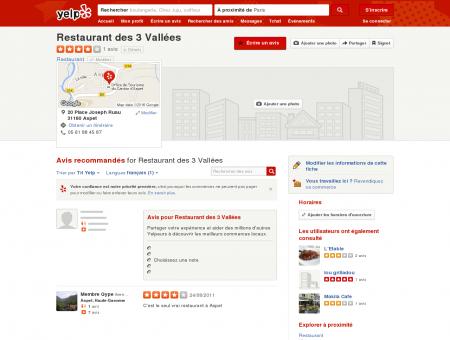 Restaurant des 3 Vallées - Restaurant - 20...
