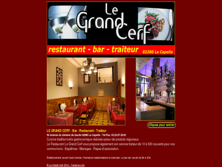 LE GRAND CERF - Bar - Restaurant - Traiteur -...
