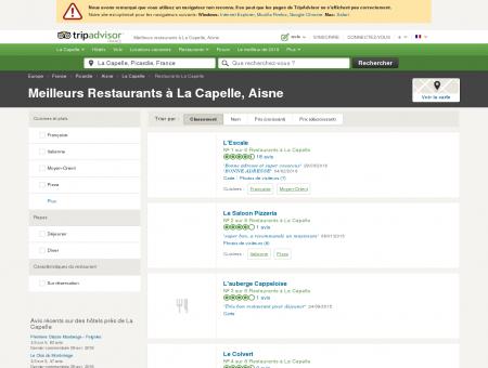 Les 5 meilleurs restaurants à La Capelle -...