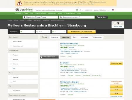 Les 10 meilleurs restaurants à Bischheim -...