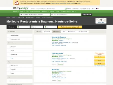 Les 10 meilleurs restaurants à Bagneux -...