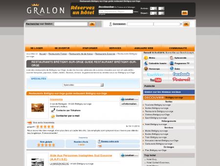 Restaurants Brétigny-sur-Orge guide...