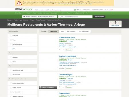 Les 10 meilleurs restaurants à Ax-les-Thermes...