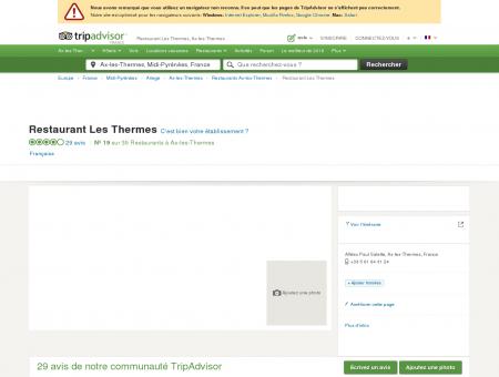 Restaurant Les Thermes, Ax-les-Thermes -...