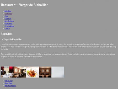 Restaurant : Verger de Bishwiller