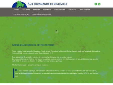 Aux gourmands de Belleville | Un site utilisant...