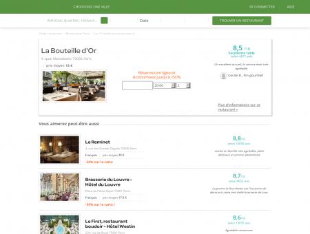 La Bouteille d'Or | LaBouteilledOr.LaFourchette.com