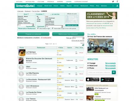Restaurant Aubiere : Le guide des meilleurs...