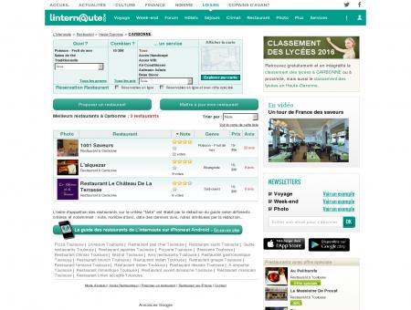 Restaurant Carbonne : Le guide des meilleurs...