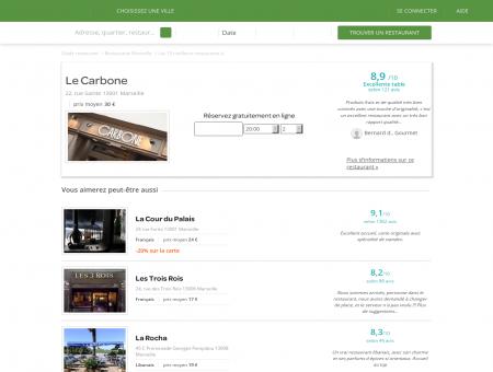 Restaurant Le Carbone | le-carbone.lafourchette.com