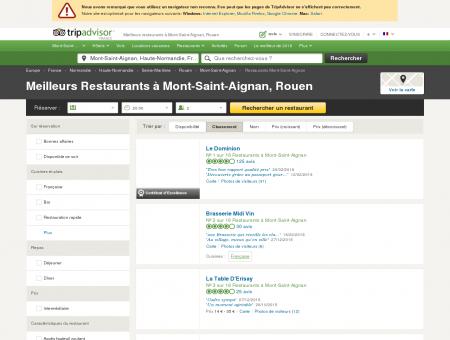 Les 10 meilleurs restaurants à Mont-Saint...