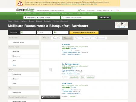 Les 10 meilleurs restaurants à Blanquefort -...