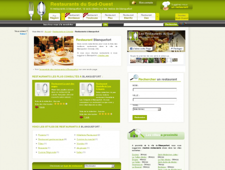 Restaurant à blanquefort - Guide des...