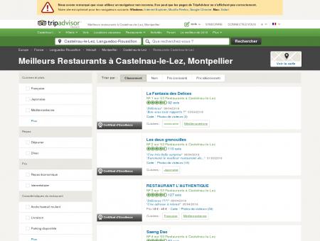 Les 10 meilleurs restaurants à Castelnau-le...