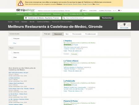 Les 5 meilleurs restaurants à Castelnau-de...