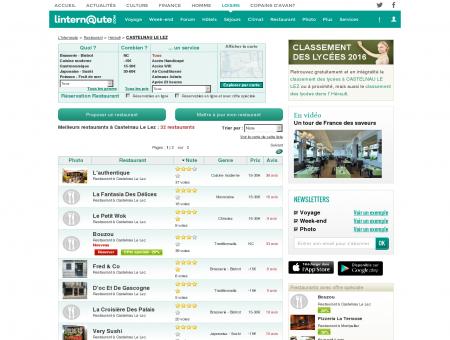 Restaurant Castelnau Le Lez : Le guide des...