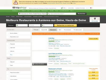 Les 10 meilleurs restaurants à Asnieres-sur...