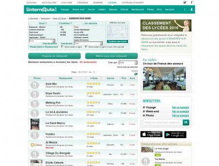 Restaurant Asnieres Sur Seine : Le guide des...