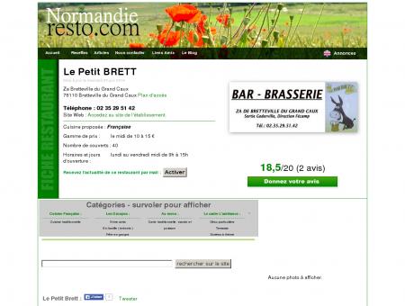 Le Petit BRETT - Restaurant Bretteville du...