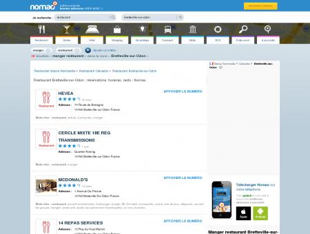Restaurant Bretteville-sur-Odon :...