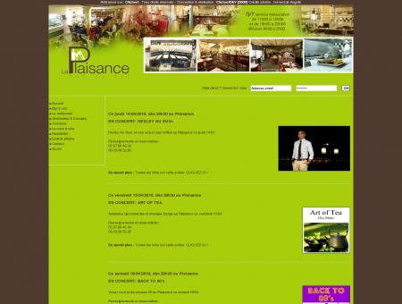 Restaurant le plaisance à bourg sur Gironde -...