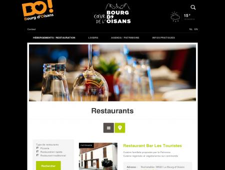 Restaurants | Bourg d'Oisans
