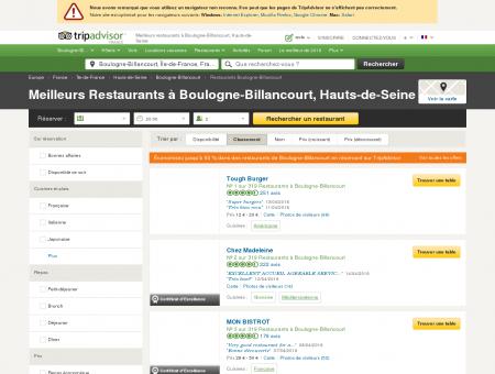 Les 10 meilleurs restaurants à Boulogne...