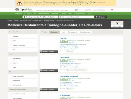 Les 10 meilleurs restaurants à Boulogne-sur...