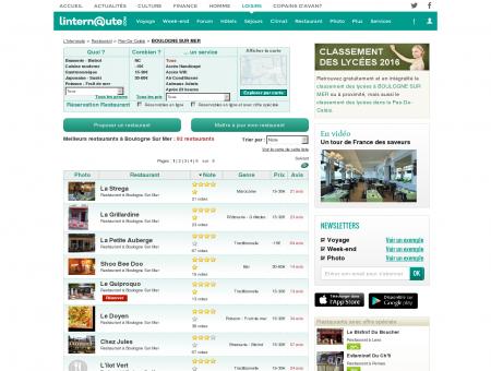 Restaurant Boulogne Sur Mer : Le guide des...