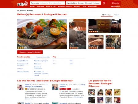 Restaurant à Boulogne-Billancourt - Yelp