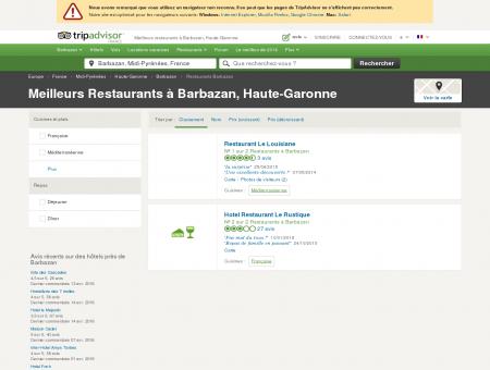 Les meilleurs restaurants à Barbazan -...