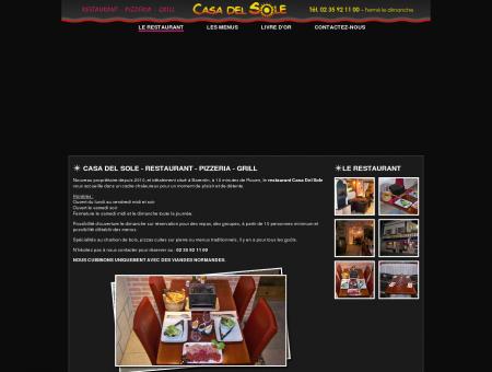 Casa Del Sole , votre restaurant, Pizzeria, Grill à ...