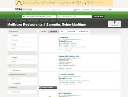 Les 10 meilleurs restaurants à Barentin -...