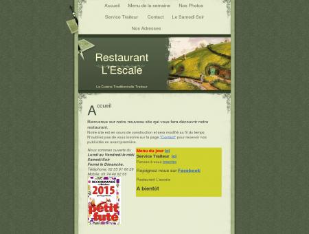 Restaurant L'Escale ,Villers Ecalles, Barentin, La...