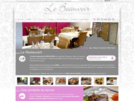 HOTEL LE BEAUVOIR - Hôtel restaurant près...