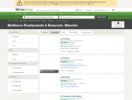 Les 5 meilleurs restaurants à Beauvoir -...