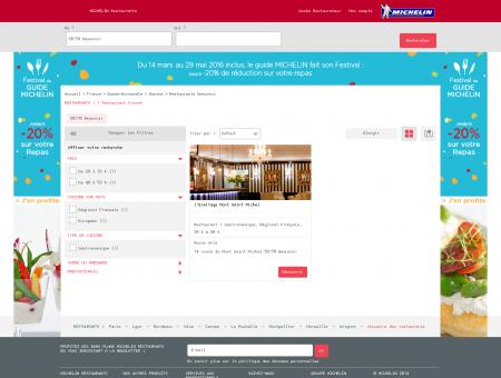 Restaurants 50170 Beauvoir - MICHELIN...