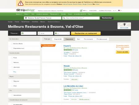 Les 10 meilleurs restaurants à Bezons -...